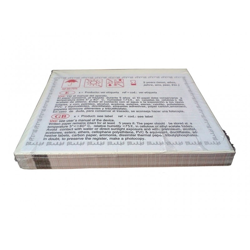Papel Termico BeneHeart R12 (210x300) mm x 150 Painmed E210R30M15.