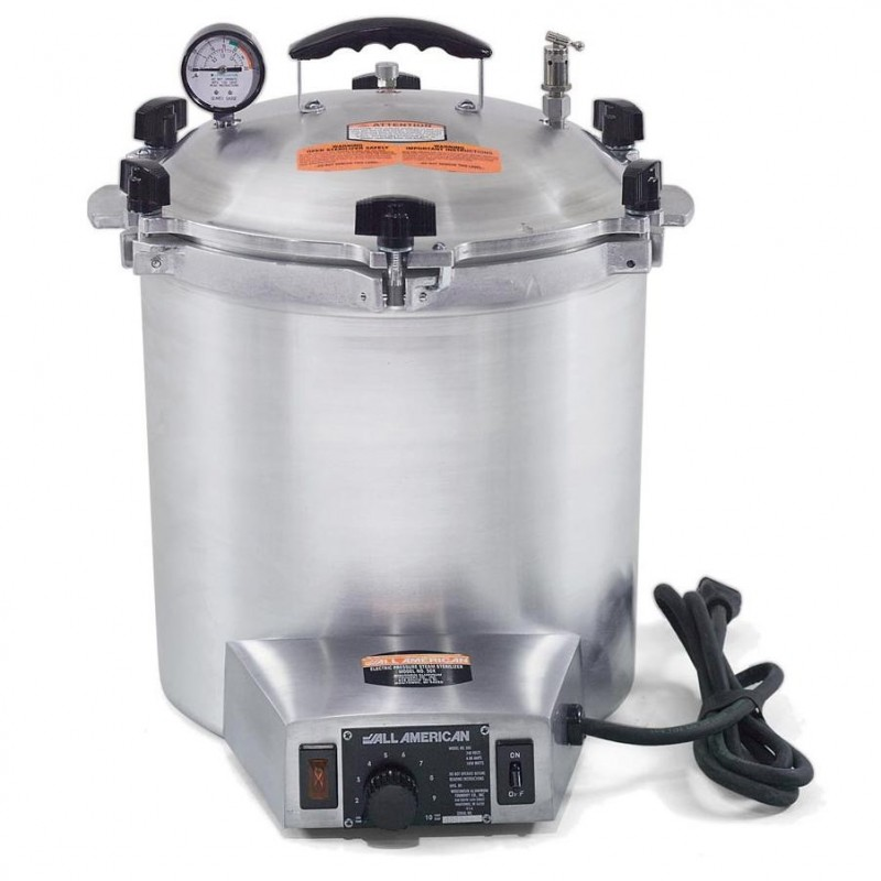 Autoclave A Vapor Olla All American 50X.